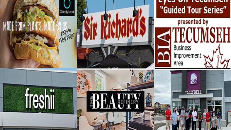 Eyes On Tecumseh: New Restaurants & Boutique Salon Open in Tecumseh