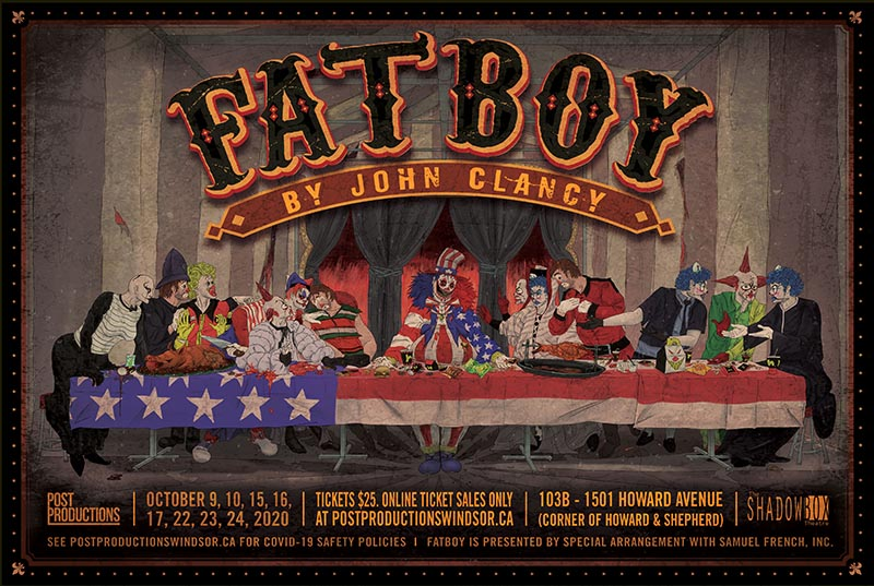 Fatboy presented by Post Productions Poster