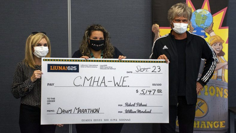 Jeff Burrows Half Drum Marathon Delivers Over $30K Despite Pandemic