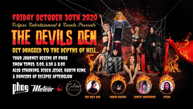 The Devil's Den Windsor Poster