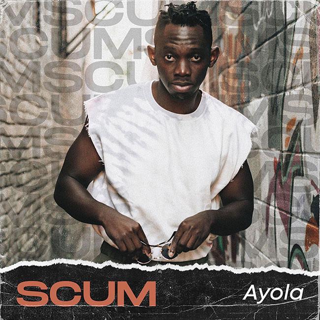 Ayola debut EP Scum album cover
