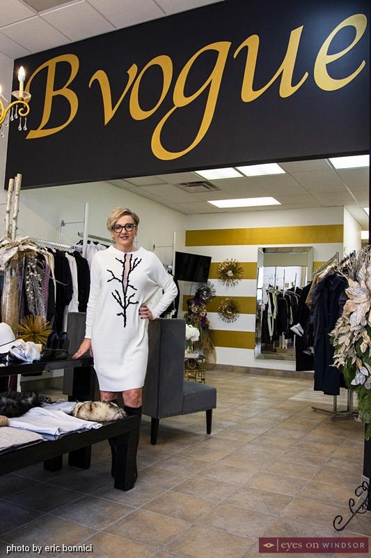 Ewa Biniarz, Owner of BVogue Boutique in Tecumseh