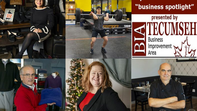 Eyes On Tecumseh: Business Spotlight On Foot Fashion, Men's Wear, Food, Hockey Training & Wellness