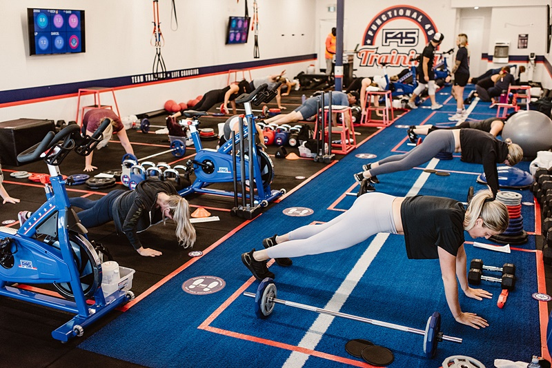 F45 Training Gym in Tecumseh