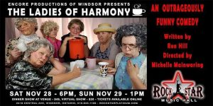 Ladies of Harmony Poster Encore Productions of Windsor