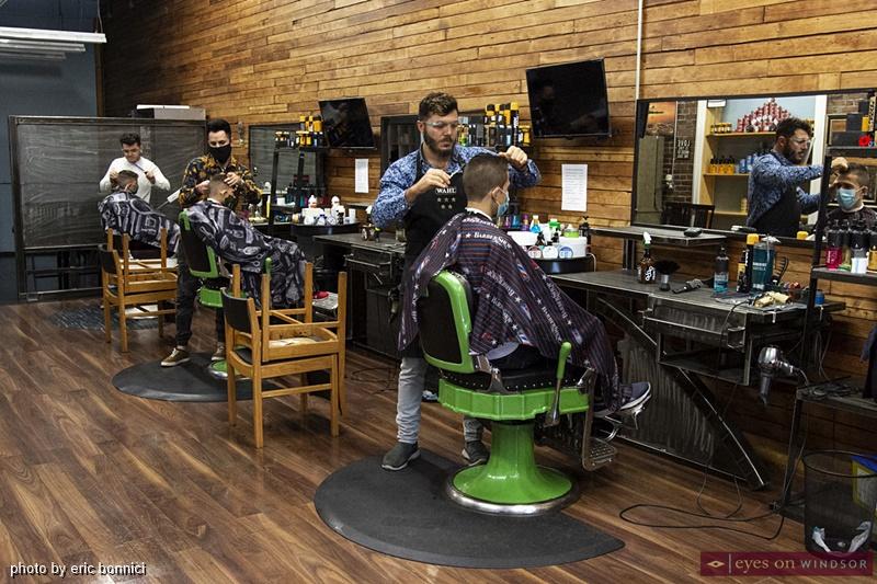 Mane Station Barber Shop owner Silver Elia