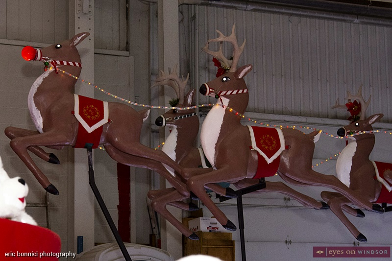 Windsor Parade Corp. Santa's Sleigh float