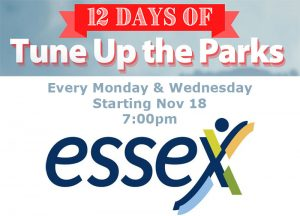 Tune Up The Parks Holiday Edition Town of Essex