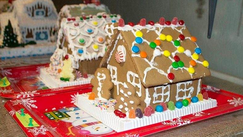 The Battle of the Gingerbreads: Gingerbread House Making Competition