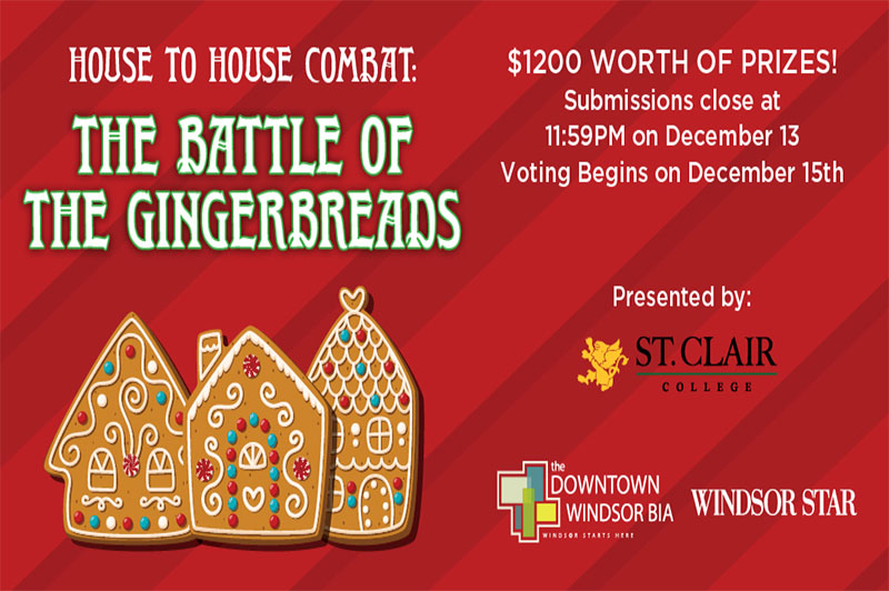 Battle of the Gingerbreads : Gingerbread House Competition