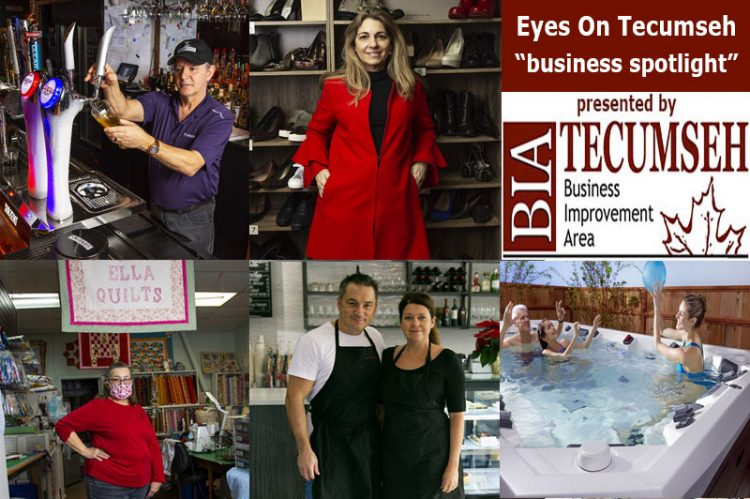 Eyes On Tecumseh: Business Spotlight On Drinks, Desserts, Quilts, Fashion & Hot Tubs