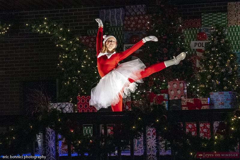 Elf On A Shelf Dancing during the Spirit of Christmas