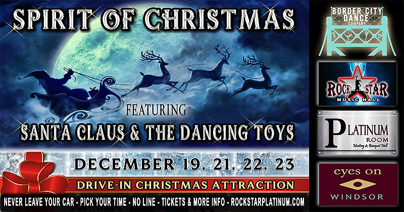 Spirit of Christmas Drive In Dance Theatre Experience
