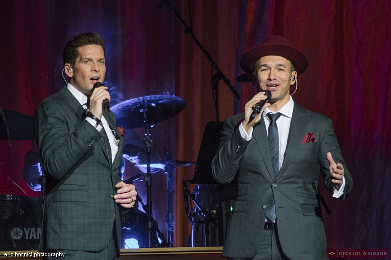 The Tenors Clifton Murray, and Victor Micallef