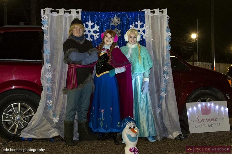 Evermore Princess Parties during Windsor Santa Claus Parade