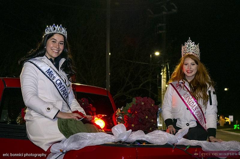 Samantha Little, Miss Ontario North America 2021, and Kaitlyn Pecaski, Canada's Perfect Miss 2020