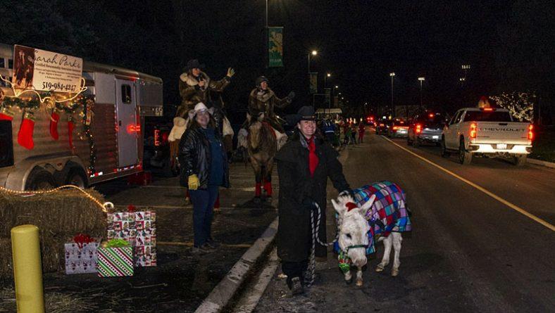 Reverse Drive Through Windsor Santa Claus Parade Full of Smiles