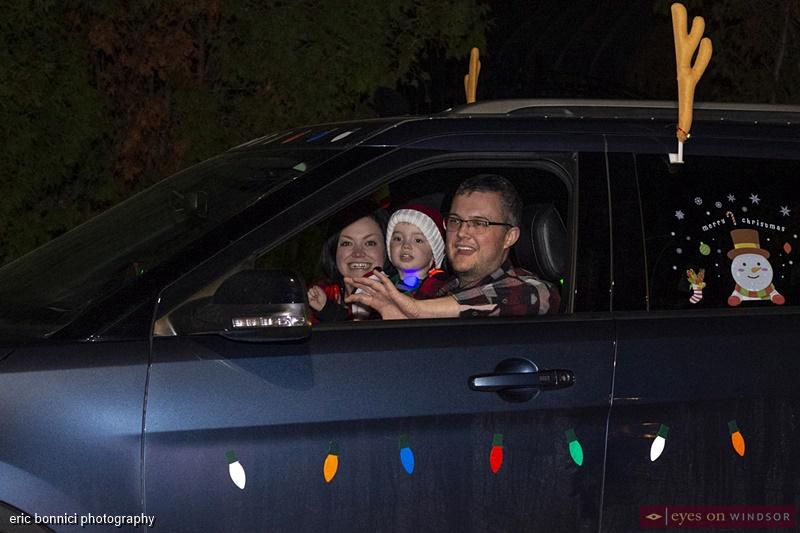 Spectators, Windsor Santa Claus Parade