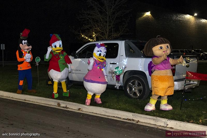Cartoon Characters, Windsor Santa Claus Parade