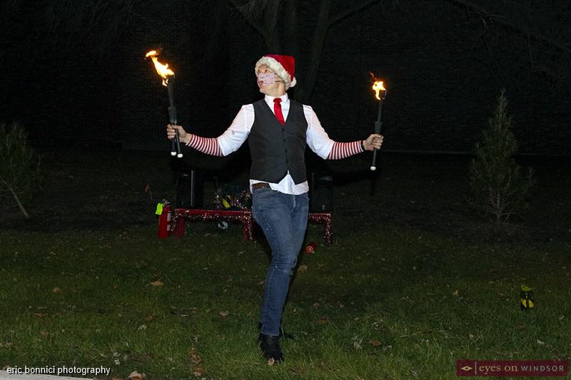 Busker Kobbler Jay, Windsor Santa Claus Parade