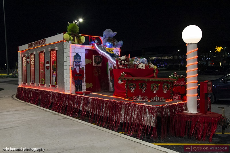 Santa's Workshop Parade Float, Windsor Parade Corporation