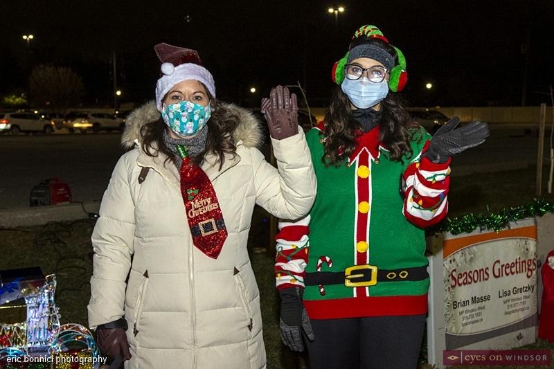 Lisa Gretzky Windsor Santa Claus Parade