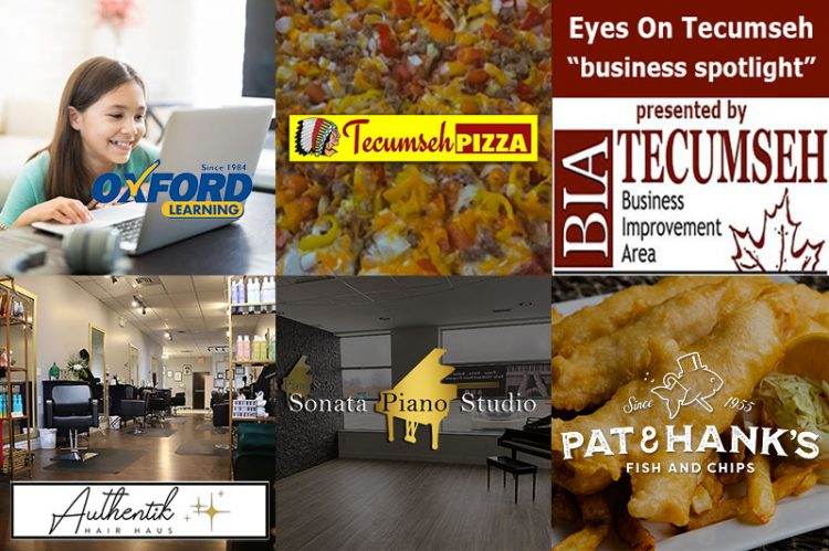 Eyes On Tecumseh: Business Spotlight on Beauty, Learning, Fish & Chips, Music & Pizza
