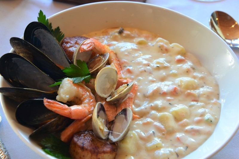 Seafood Chowder by North 42 Degrees Estate Winery