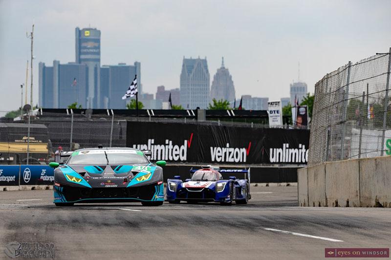 IMSA Detroit Grand Prix Paul Miller Racing Lamborghini