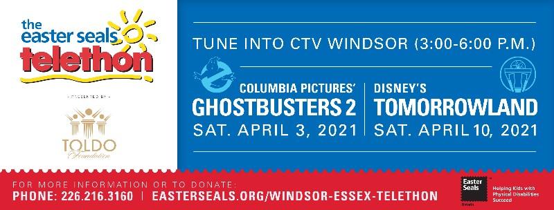 Easter Seals Windsor Essex Telethon Poster
