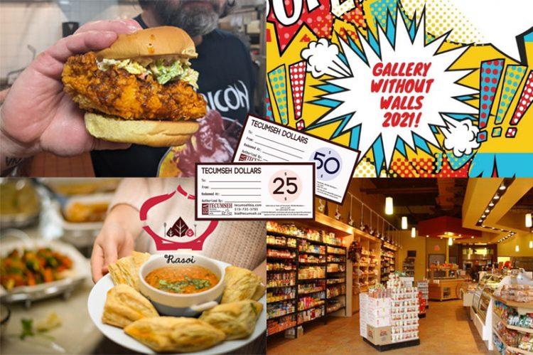 Eyes On Tecumseh Business Spotlight: Taste Bud Tempting Eateries, Art Contest & Tecumseh Dollars