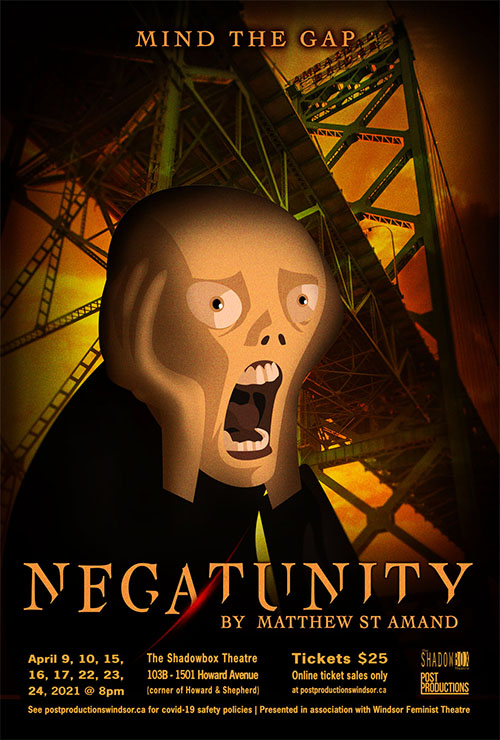Post Productions Negatunity by Matt St. Amand Poster
