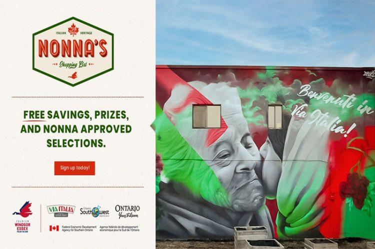 Nonna's Shopping List Launched Alongside Derkz Via Italia Mural Unveiling