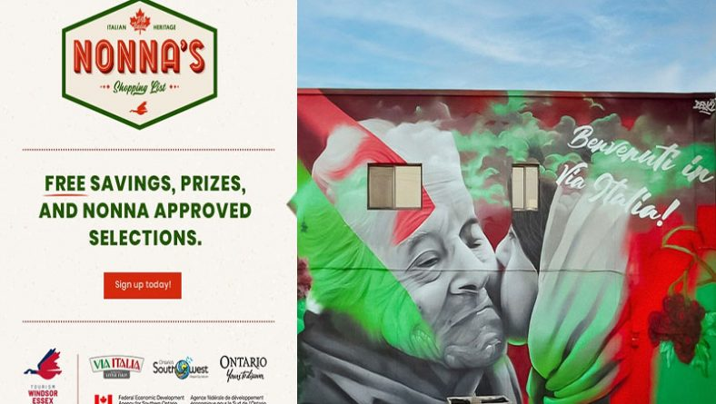 Nonna's Shopping List Launched Alongside Derkz Via Italia Mural Unveiling
