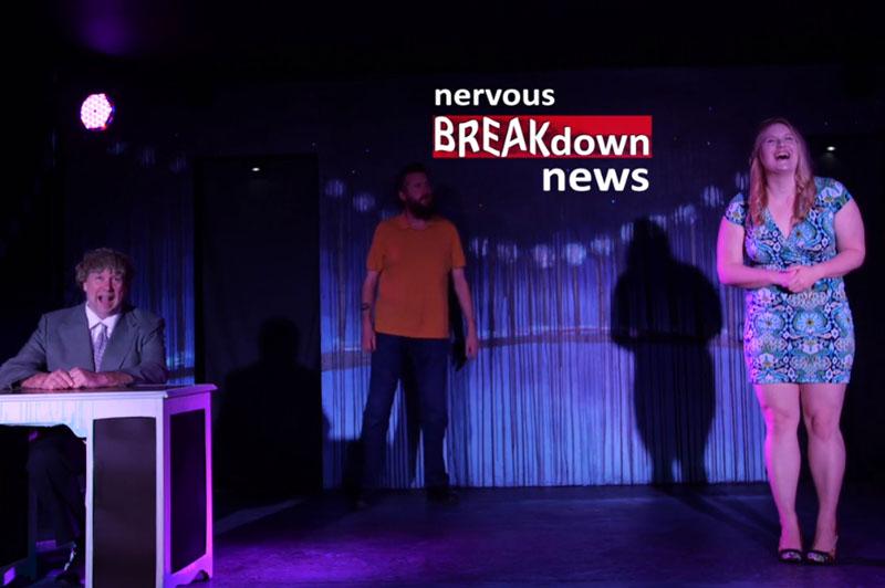 Negatunity Nervous Breakdown News Scene
