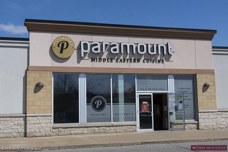 Paramount Middle Eastern Restaurant Windsor