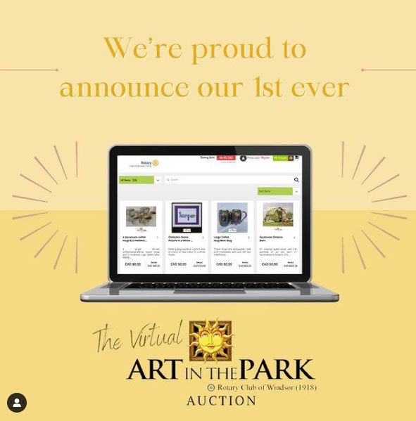 Art In The Park Virtual Auction