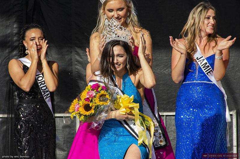 Melina Svab crowned Miss Tecumseh