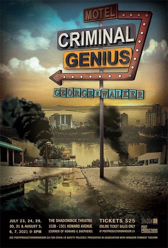 Criminal Genius Post Productions Windsor Poster