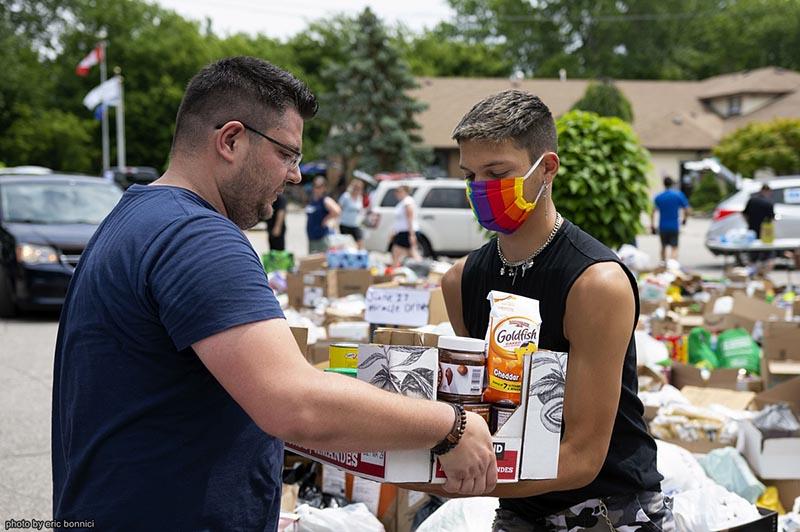 June 27 Miracle Volunteers in Riverside, ON