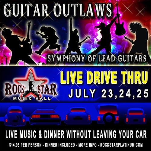 Guitar Outlaws Live Drive Thru