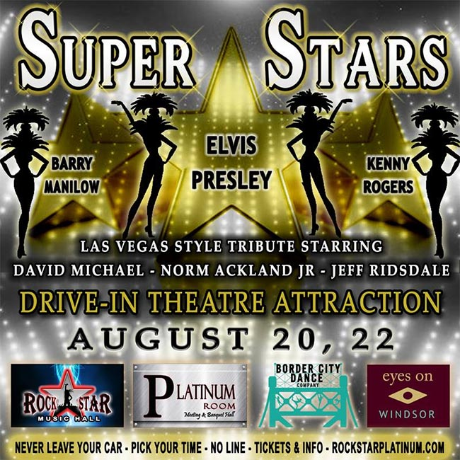 Live Drive Thru at Rockstar Music Hall Superstars Tribute