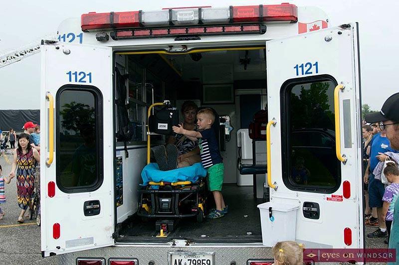Meet A Machine Windsor Ambulance
