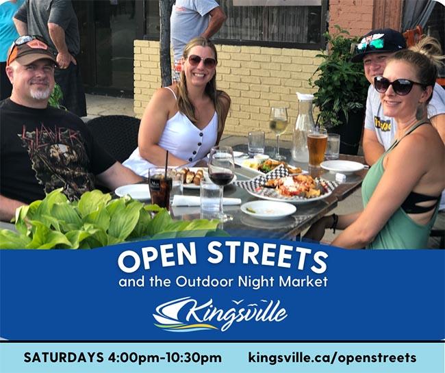 Open Streets Kingsville