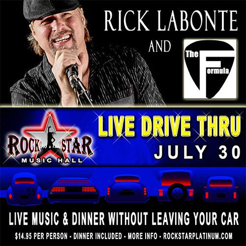 Rick Labonte Live Drive Thur Concert at Rockstar Music Hall