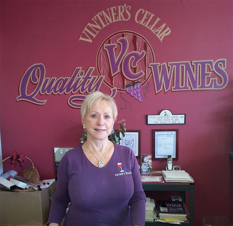 Vinter's Cellar owner Diane Bezaire.