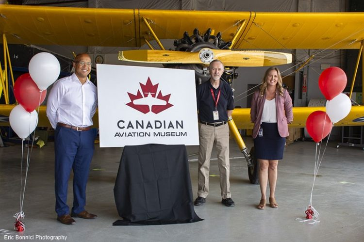 CH2A Rebranded as Canadian Aviation Museum Literally Takes Flight