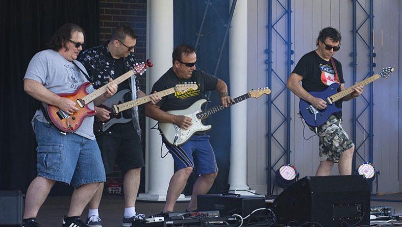 Local Guitar Outlaws Shred Rockstar Windsor's Live Drive Thru