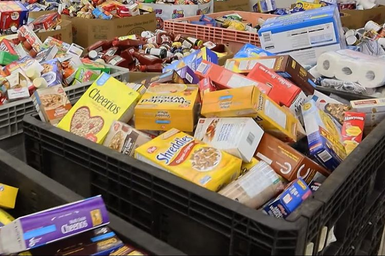June 27 Miracle Gathers One Million Plus Pounds of Food For The Hungry