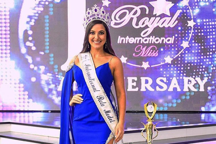 Tecumesh's Maria Giorlando Wins International Pageant Role Model Title